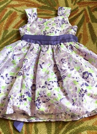 Платье платьице пышное праздничное фатин нарядное