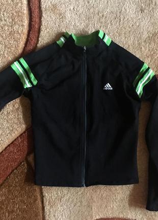 Олимпийка спортивная кофта куртка унисекс хлопок adidas оригинал
