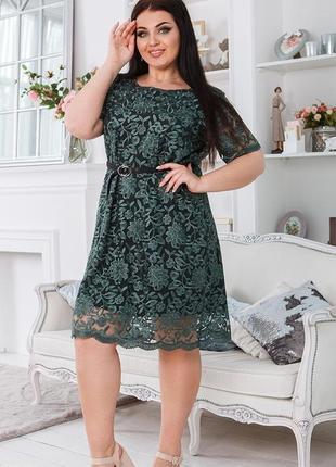 Шикарное вечернее платье большие размеры