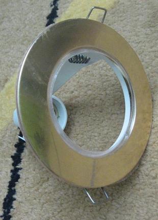 Светильник точечный R80 E27 Золото