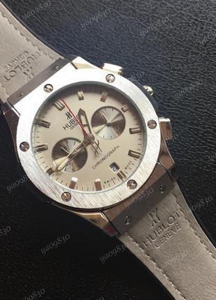 Стильные наручные часы, кварцевый хронограф