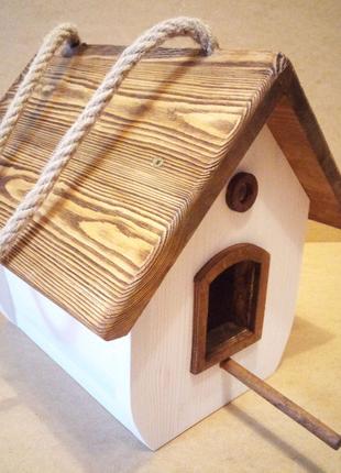 Шпаківня / скворечник / дощик для птиці / декор для сада