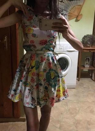 Платье сарафан платьице с открытой спиной