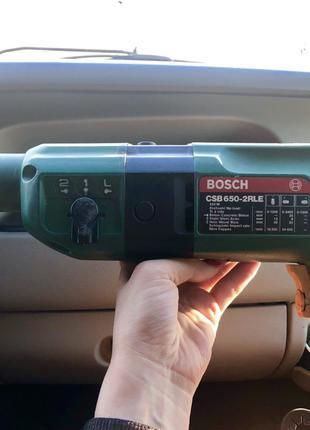 Перфоратор BOSCH CSB 650-2RLE (б/у)