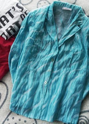 Легкий нарядный пиджак большой размер