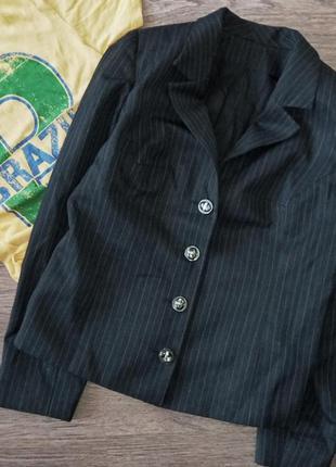 Пиджак классический полоска