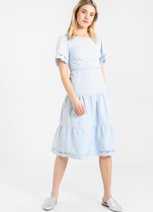 Mint&berry шикарное хлопковое платье, р.38