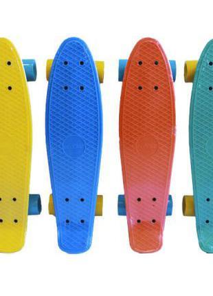 Детский скейт Penny board Maxi EcoLine
