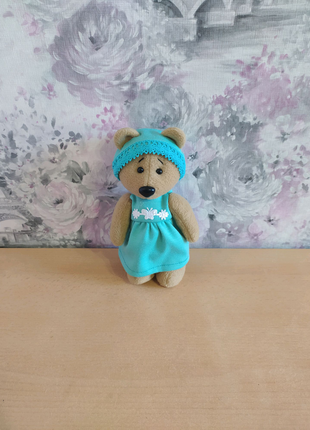 Мягкая плюшевая игрушка мишка медведь подарок девочке рождения