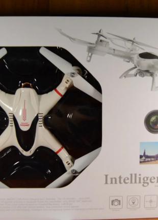 Квадрокоптер с камерой Intelligent Drone BF190 (белый)