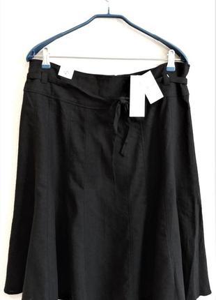 Льняная юбка new look