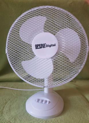 Вентилятор настольный Opera 12 дюймовый