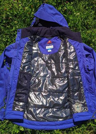 Жіноча лижня куртка columbia omni-heat omni-tech