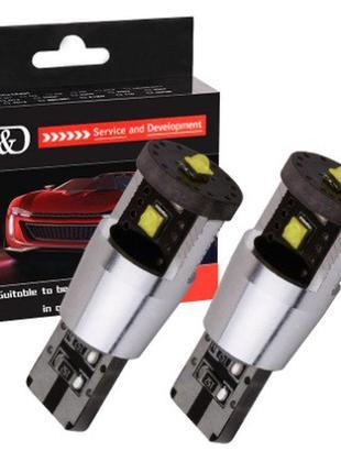 Cree Led лампы T10 w5w для Volkswagen, AUDI
