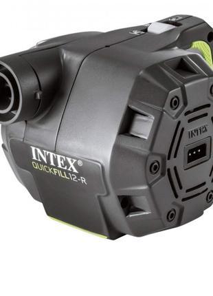 Электрический автомобильный аккумуляторный насос Intex 66642 Quic
