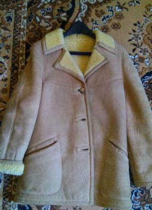 Продам Дубленка-пиджак натуральная.