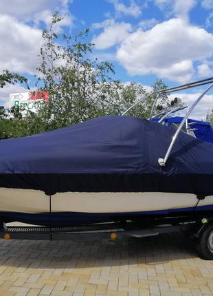 Тент на лодку катера транспортировочный