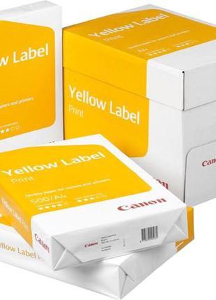 Набор бумаги офисной Canon А4 80 г/м2 класс С 5 пачек по 500 лист