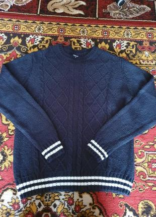 Мужской свитер тёплый зима