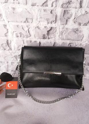 Женская кожаная сумка жіноча шкіряна сумочка из натуральної шкіри