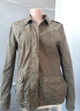 Куртка цвета хаки denim