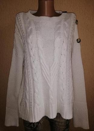 Красивый, теплый женский свитер, кофта, джемпер 18 р. marks & ...