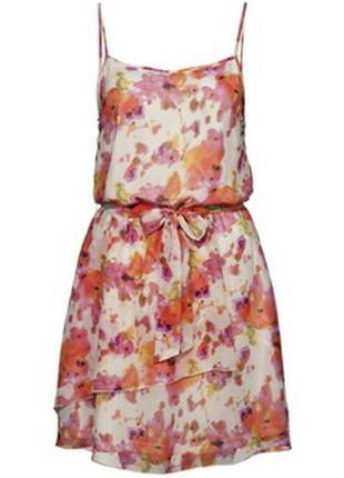 Яркое летнее платье amisu, размер l , new yorker