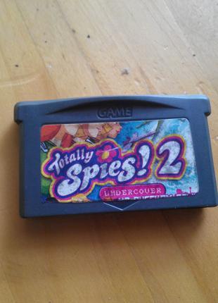Игра Картридж Nintendo DS GBA Game boy advance Totally Spies! 2