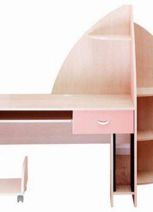 Детский стол Embawood Флора со стулом