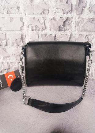 Жіноча шкіряна сумка кожаный клатч шкіряний из кожи