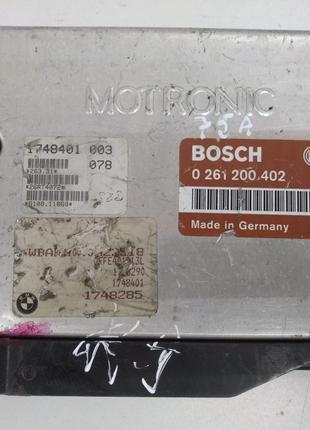 Блок управления двигателя BMW E34 E36 0261200402 1748401003