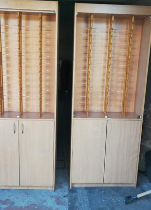 Шкаф стенд стойка витрина для очков офтальмолог оптика оптометрис