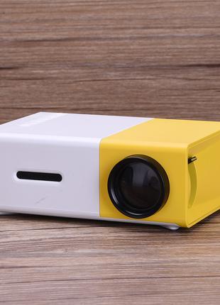Портативный мини проектор Led Projector YG300 mini с динамиком