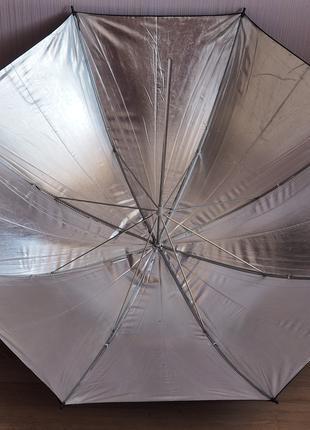 Фотозонт Зонт отражатель 110см