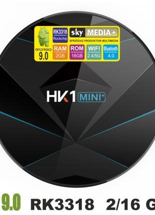 Android Smart TV приставка HK1 mini plus 2/16 GB