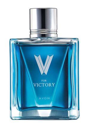 Туалетна вода  Avon V for Victory