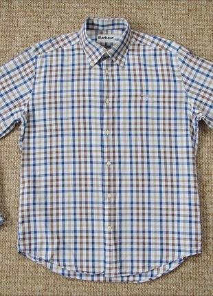 Barbour рубашка оригинал (m)