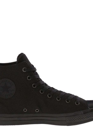 Кеди Converse All Star 2 чорні високі.