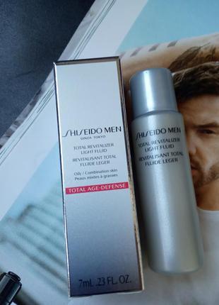 Миниатюра shiseido men комплексный омолаживающий флюид для мужчин
