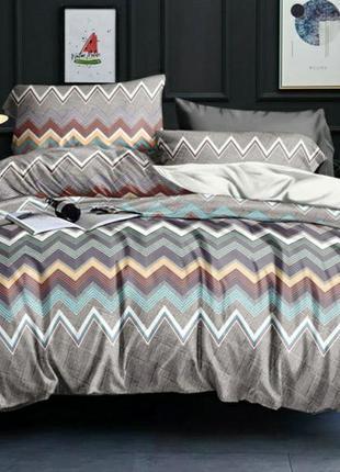Комплект постельного белья в ранфорсе. двуспальный