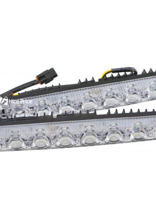 Дневные ходовые DRL огни Harpoon 9W с поворотником (комплект)
