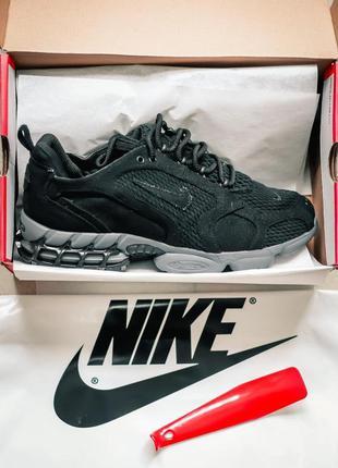 Кросівки nike x stussy air zoom spiridon cage black кроссовки