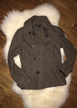 Пиджак коричневый осень zara