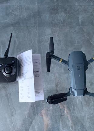 Квадрокоптер Дрон +чехол  JY019 (Eachine e58) FPV HD камера
