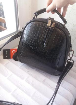 Жіноча шкіряна сумка сумочка женская из натуральной кожи