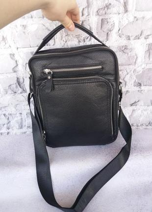 Чоловіча шкіряна сумка мужская кожаная сумка чоловіча шкіряна