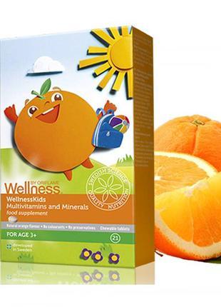 "Wellness ""Мультивитамины и минералы"" ""Омега-3"""