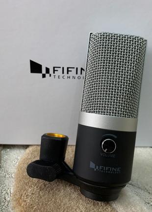 Конденсаторный студийный USB-микрофон Fifine K670! Для Mac/Win...