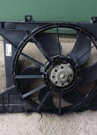 Б/у вентилятор осн радиатора для легкового авто Renault Scenic, Р