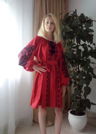 Плаття вишите, ручна робота